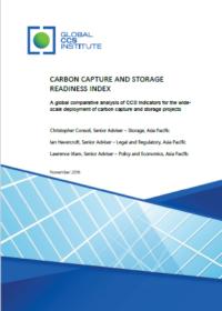 Global CCS Institute CCS readiness Index