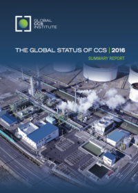 The Global Status of CCS: 2016 Summary Report