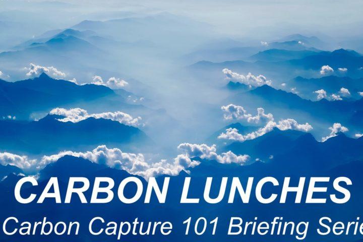 Carbon Lunch – Underground Edition: CO2 Storage