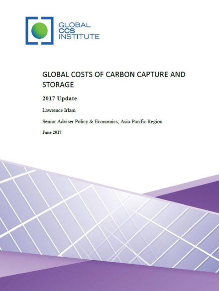 Global Costs of Carbon Capture and Storage