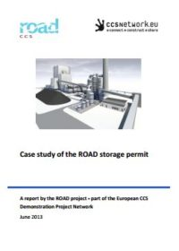 Case study of the ROAD storage permit