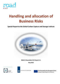 Handling and allocation of business risks: special report to the Global Carbon Capture and Storage Institute