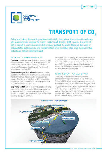 Transport of CO2