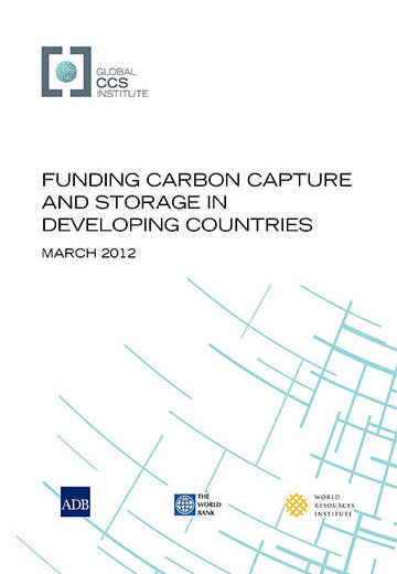 Funding carbon capture and storage in developing countries