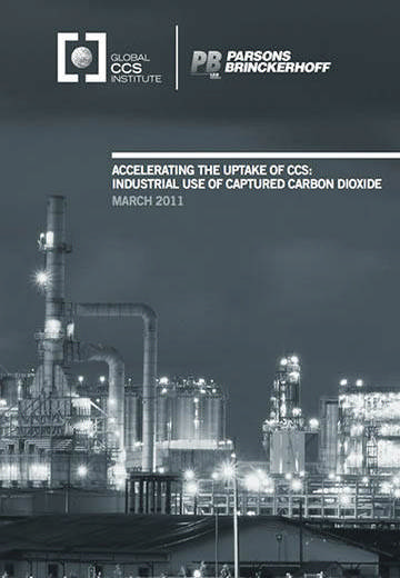 Accelerating the uptake of CCS: industrial use of captured carbon dioxide