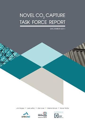 Novel CO2 capture taskforce report