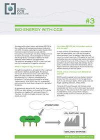 Bio-energy with CCS