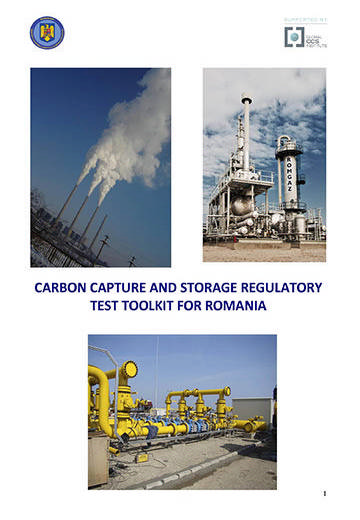 Carbon capture and storage regulatory test toolkit for Romania