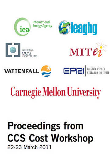 Proceedings from CCS cost workshop: 22-23 March 2011