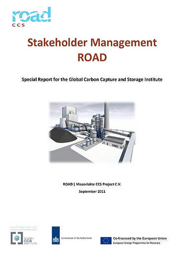 Stakeholder management: ROAD. Special report to the Global Carbon Capture and Storage Institute