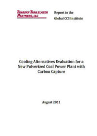 Cooling alternatives evaluation for a new pulverized coal power plant with carbon capture