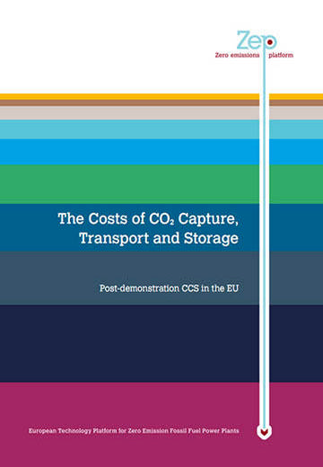 The costs of CO2 capture, transport and storage: Post-demonstration CCS in the EU