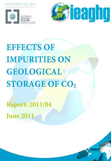 Effects of impurities on geological storage of CO2