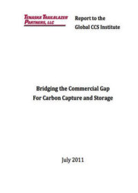 Bridging the commercial gap for carbon capture and storage