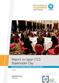Report on Japan CCS stakeholder day
