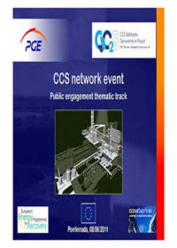 CCS network event: Public engagement thematic track