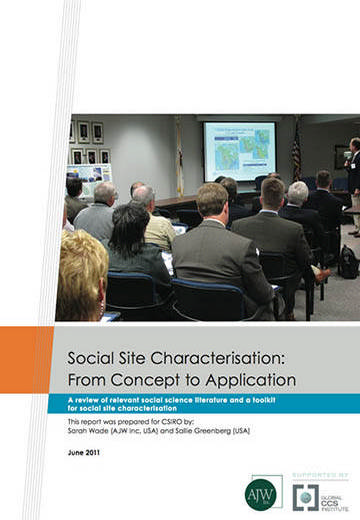 Social site characterisation: from concept to application. A review of relevant social science literature and a toolkit for social site characterisation