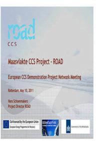 Maasvlakte CCS project: ROAD