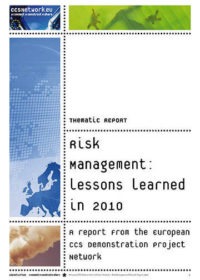 Thematic report: Risk management: Lessons learned in 2010