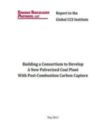 Building a consortium to develop a new pulverized coal plant with post-combustion carbon capture
