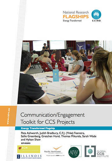 Communication/engagement toolkit for CCS projects