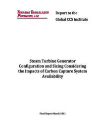 Steam turbine generator configuration and sizing considering the impacts of carbon capture system availability