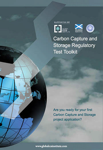 Carbon capture and storage regulatory test toolkit