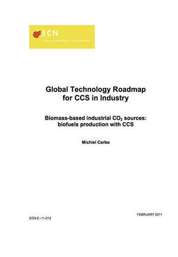 Global technology roadmap for CCS in industry. Biomass-based industrial CO2 sources: biofuels production with CCS