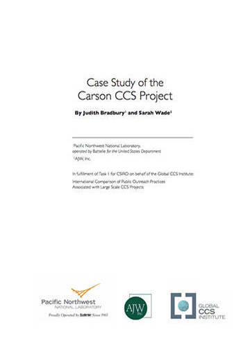 Case study of the Carson CCS Project