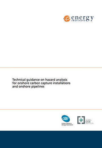 Technical guidance on hazard analysis for onshore carbon capture installations and onshore pipelines