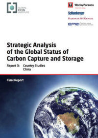 Strategic analysis of the global status of carbon capture and storage. Report 3: country studies China