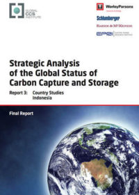 Strategic analysis of the global status of carbon capture and storage. Report 3: country studies Indonesia