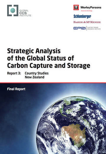 Strategic analysis of the global status of carbon capture and storage. Report 3: country studies New Zealand