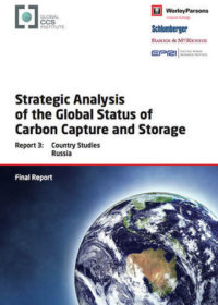 Strategic analysis of the global status of carbon capture and storage. Report 3: country studies Russia