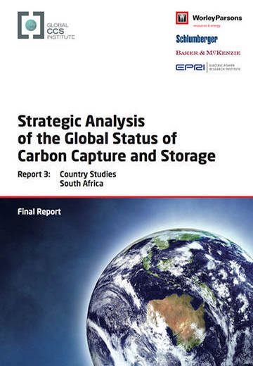 Strategic analysis of the global status of carbon capture and storage. Report 3: country studies South Africa