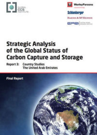 Strategic analysis of the global status of carbon capture and storage. Report 3: country studies United Arab Emirates