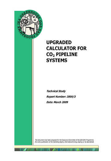 Upgraded calculator for CO2 pipeline systems