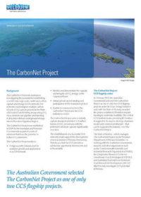 The CarbonNet Project