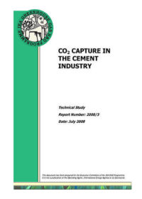 CO2 capture in the cement industry