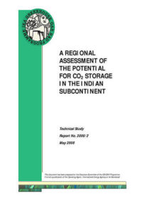 A regional assessment of the potential for CO2 storage in the Indian subcontinent