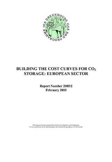 Building the cost curves for CO2 storage: European sector