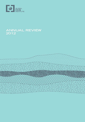 Global CCS Institute annual review 2012
