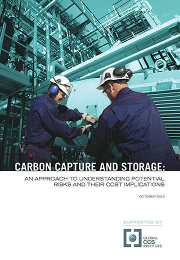 Carbon capture and storage: an approach to understanding potential risks and their cost implications