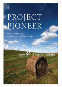 Project Pioneer. Transporting CO2: a non-confidential report