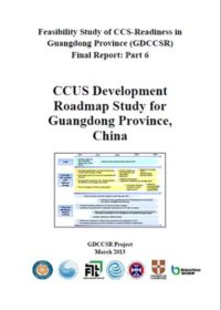 CCUS development roadmap study for Guangdong Province, China