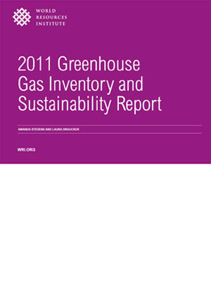 2011 greenhouse gas inventory and sustainability report