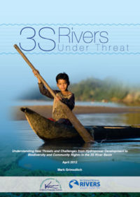 3S rivers under threat: understating new threats and challenges from hydropower development to biodiversity and community rights in the 3S River Basin
