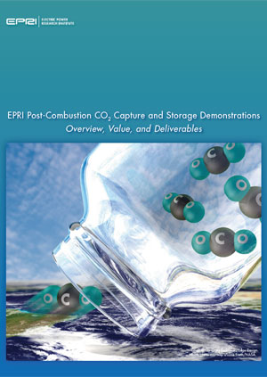 EPRI post-combustion CO2 capture and storage demonstrations: overview, value, and deliverables