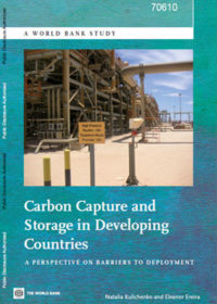 Carbon capture and storage in developing countries: a perspective on barriers to deployment