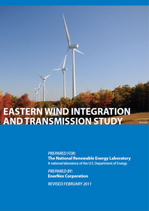Eastern wind integration and transmission study